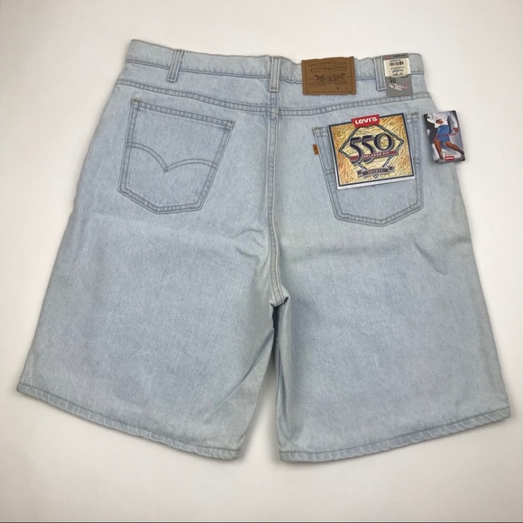 Levi's Other - VINTAGE LEVI'S 550 RELAXED FIT ORANGE TAB SHORTS
